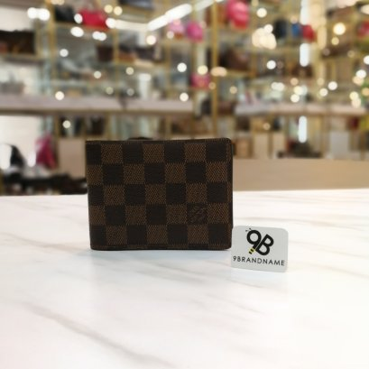 Louis Vuitton Mens Wallet Damier Ebene