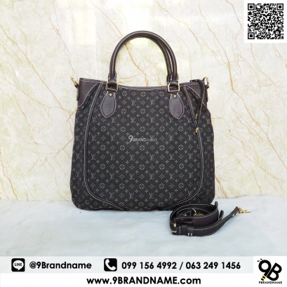 Louis Vuitton Mini Lin Besace Angele Ebene Black Color