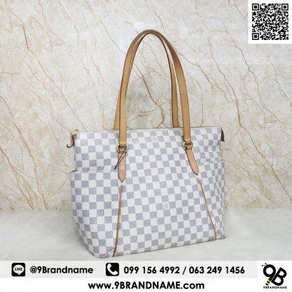 Louis Vuitton Totally PM Shoulder Bag Damier Azur N51261