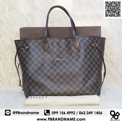 Louis Vuitton neverfull  damier Size GM