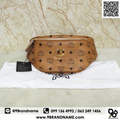 MCM Stark Belt Bag in Visetos