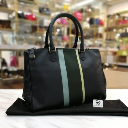 Paul Smith​ Tote​ Bag​ Double​-Zip​ Black