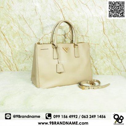 Prada BN2274 Saffiano Lux Cammeo Size35 GHW