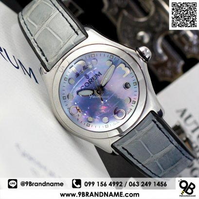 Corum Bubble  Quartz  Blue Lady 36 mm