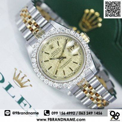 Rolex Datejust 79173 Gold Dial 2k Lady Size 26 mm