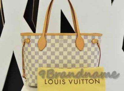 Louis Vuitton Neverfull Azur PM ไซส์เล็ก ขาว น่ารักค่ะ สภาพสวย