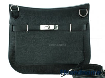 Hermes Jypsiere Black Togo Leather SHW - Used Authentic Bag  กระเป๋าแอร์เมสจีฟเซีย สีดำหนังโทโกอะไหล่เงิน ของแท้ค่ะ