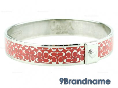 Coach Bracelet Pink Silver - Used Authentic
