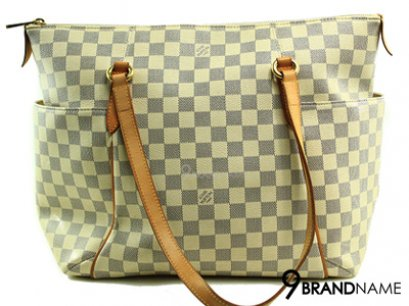 Louis Vuitton Totally MM Damier Azur Canvas