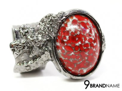 YSL Yve Saint Laurent Arty Ring Red Color
