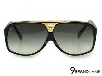 Louis Vuitton Evidence Noir Millionaire Sunglasses Z0105W - Authentic แว่นตากันแดดหลุยวิตตอง เลนส์สีดำขอบแว่นสีดำทอง ของใหม่ค่ะ