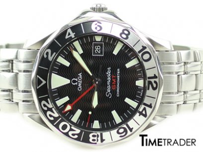 Omega Seamaster GMT Chronometer Steel Man Size