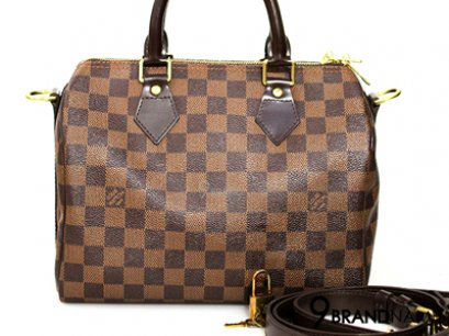 Louis Vuitton Speedy Bandoulier 25 Damier Canvas