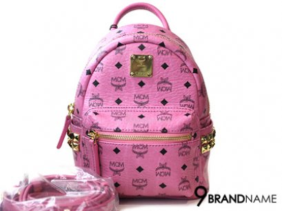 MCM Crossbody&Backpack Size X Mini Pink