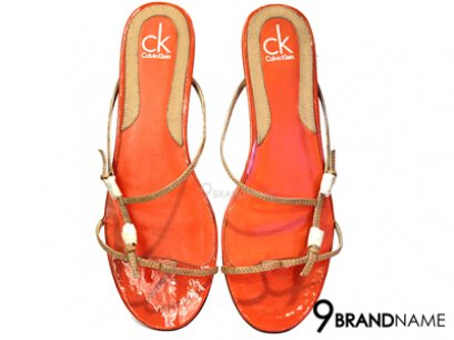 Calvin Klein Shoes Orange for Women