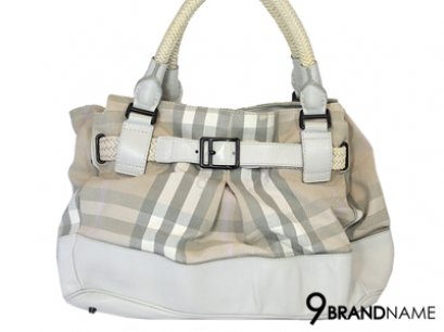 Burberry Sholder Bag White Color