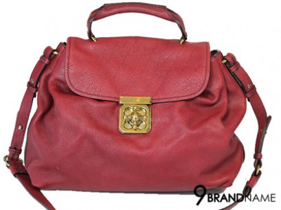 Chole Sholder Bag And Crossbody Bag Red Color GHW