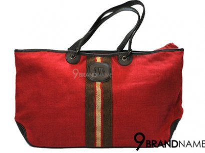 Long Champ Shoulder Bag Red Size 40cm