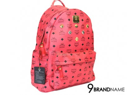 New MCM Backpack Size M Hot Pink