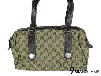 Gucci Vintage GG Canvas Tote Sholder Bag