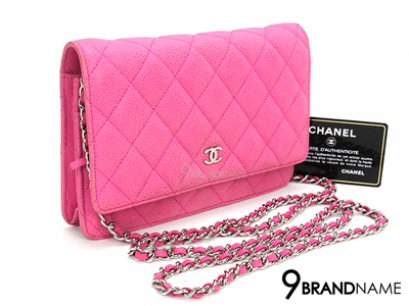 Chanel wallet on chain WOC Suede Caviar skin& SHW