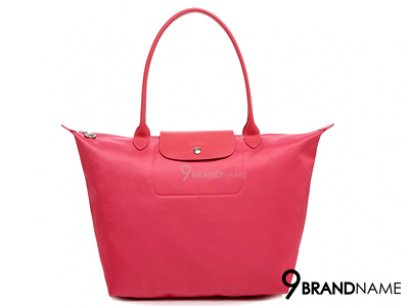 Long Champ Shopping Le Pliage Neo Pivoine Size L 31x30x19 cm