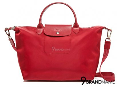 Long Champ Handbag & Crossbody Le Pliage Neo Red Size L 40x31x18 cm