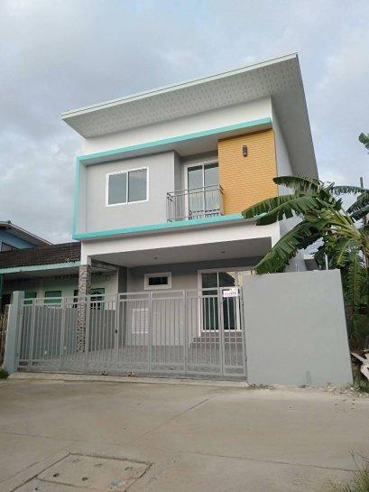 ขายบ้านใหม่ !!! บ้านเดี่ยว 2 ชั้น ถนน 9กิโล อ.ศรีราชา จ.ชลบุรี For Sale Brandnew House Sriracha , Chonburi