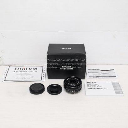 Fujinon Lens XF 18mm  F2 R (A1812008)
