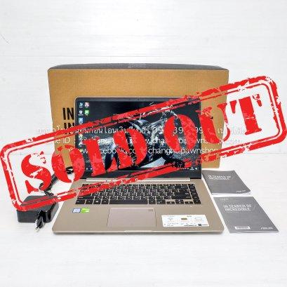 """Asus VivoBook S15 S510UN I5-8250U RAM 4GB จอ 15.6"""" FHD IPS การ์ดจอแยก (A1809022)"""