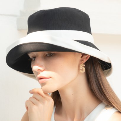 Madame Coco Hat (Black)