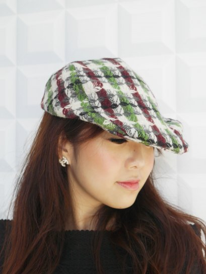 Classic Tweed Beret Cap (Vol.1)