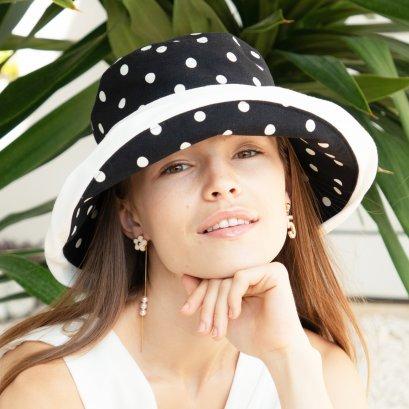 Madame Coco Dotti Hat (Black)
