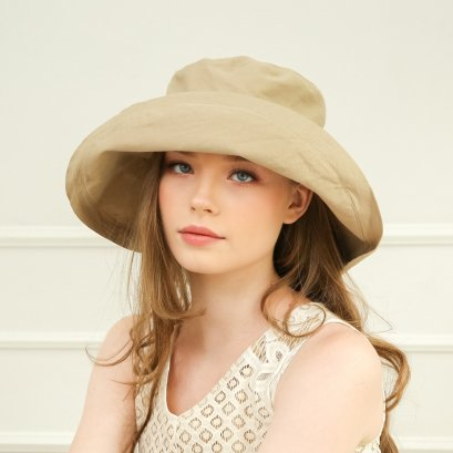 Modern Queen Hat (Beige)