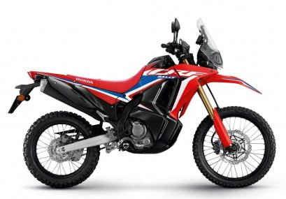 All New CRF300 RALLY