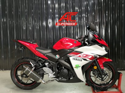 R3 สีขาว-แดง ปี16 (ปิดการขาย)