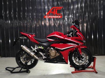 CBR500R 2018 ABS สีแดง