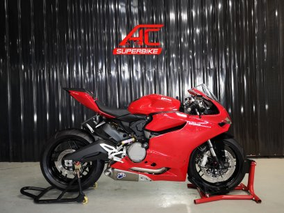 DUCATI Panigale 899 สีแดง ปี15 (ปิดการขาย)