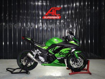 Ninja300 ABS สีเขียว-ดำ ปี17   (ปิดการขาย)
