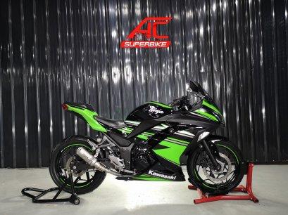 Ninja300 KRT สีเขียว-ดำ ปี17 (ปิดการขาย)