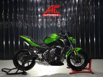 Z650 ABS สีเขียว ปี17
