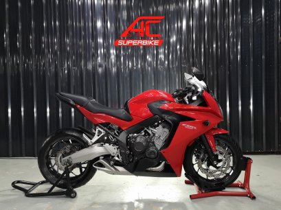 CBR650F ABS สีแดง ปี15