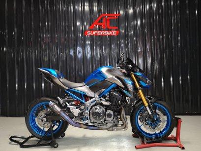 Z900SE ABS สีน้ำเงิน-เทา ปี17