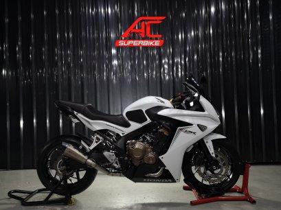CBR650F ABS สีขาว ปี17