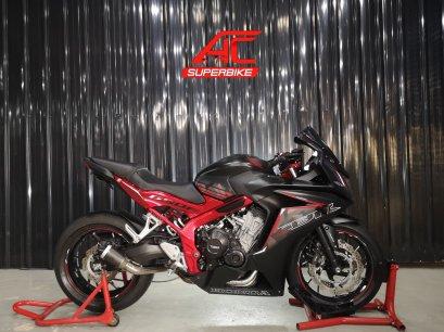 CBR650F สีดำโครงแดง ปี16