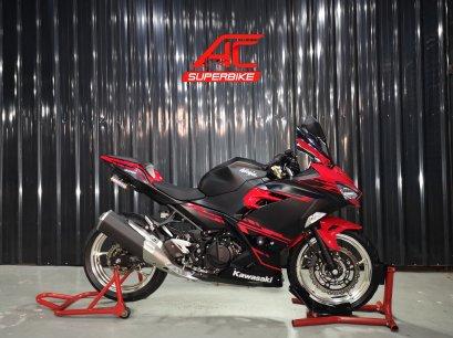 Ninja400 ABS สีดำ-แดง ปี18 (ปิดการขาย)