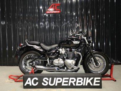 Triumph Bonneville Speedmaster สีดำปี18 (ปิดการขาย)
