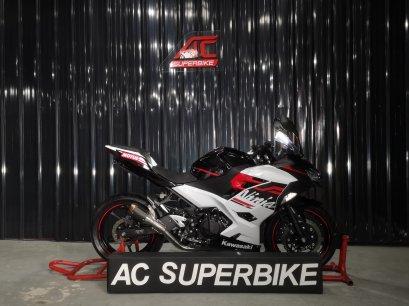 Ninja400 ABS สีขาวแดง (ปิดการขาย)