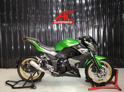 Z300 สีเขียว-ดำ ปี17