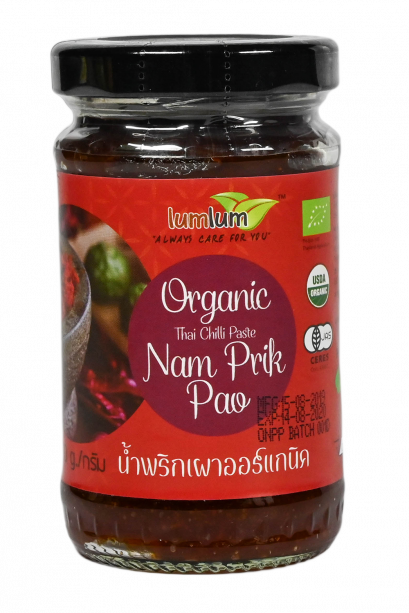 Organic Thai Chilli Paste ( Nam Prik Pao)